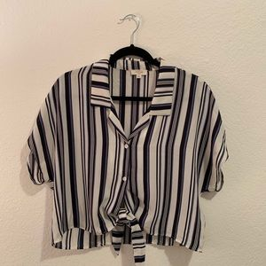 Size L Women's Striped Blouse